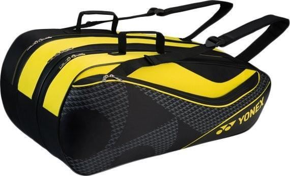 Теннисная сумка Yonex Racquet Bag 9 Pack black/lime