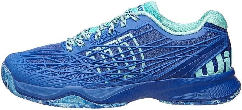 Теннисные кроссовки женские Wilson Kaos W amparo blue/surf the web/aruba blue