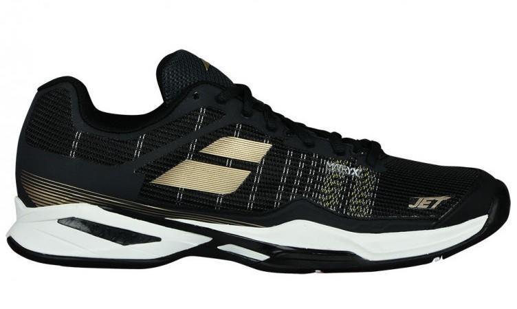 Теннисные кроссовки мужские Babolat Jet Mach I all court black/champain