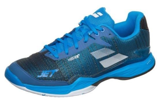 Теннисные кроссовки мужские Babolat Jet Mach II all court diva blue/grey