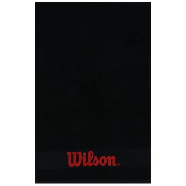 Полотенце Wilson COURT black