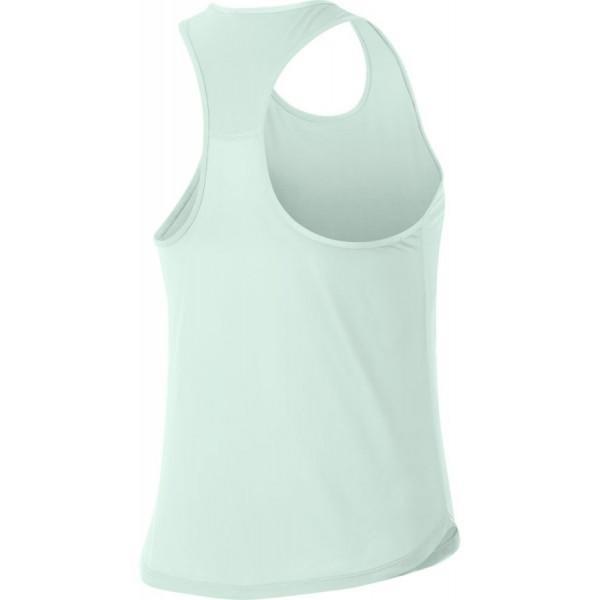 Теннисная майка женская Nike Court Dry Slam Tank barely grey/black