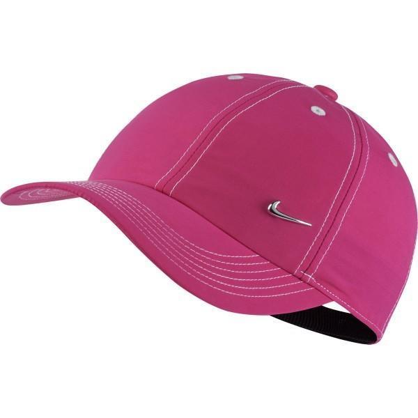 Кепка детская Nike Heritage 86 Metal Swoosh YTH pink