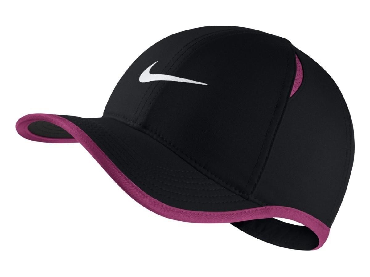 Кепка детская Nike Youth Aerobill Feather Light Cap black/pink/white