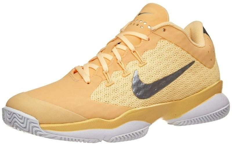 Теннисные кроссовки женские Nike Air Zoom Ultra tangerine tint/metallic silver
