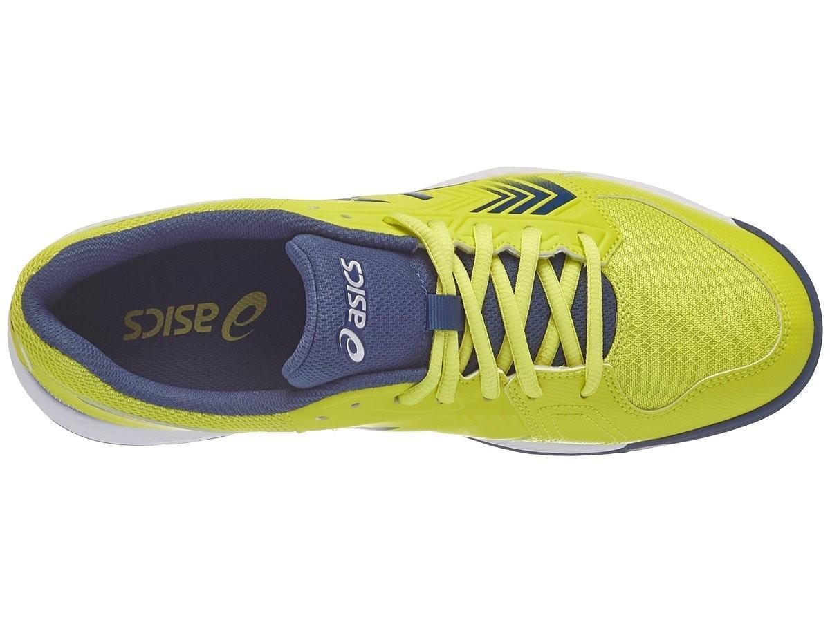 49f6c43d ... Теннисные кроссовки мужские Asics Gel-Dedicate 5 sulphur spring/ink  blue/silver