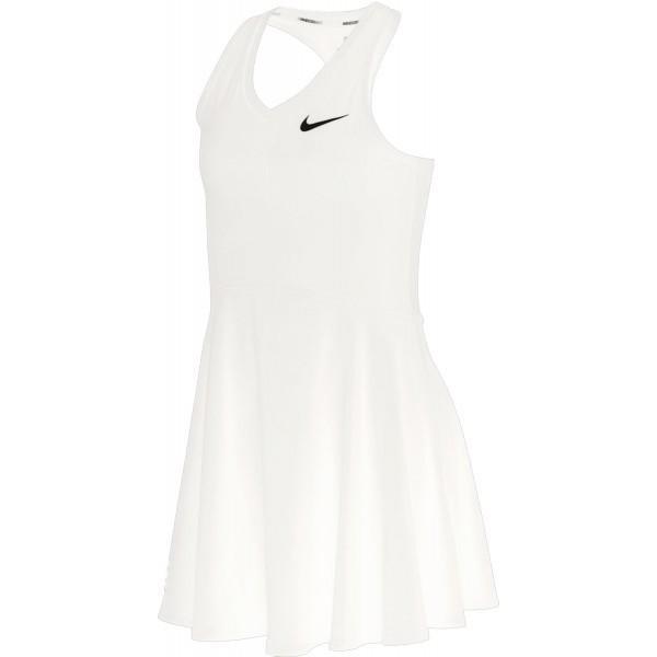 Теннисное платье для девочек Nike Court Pure Dress white/white