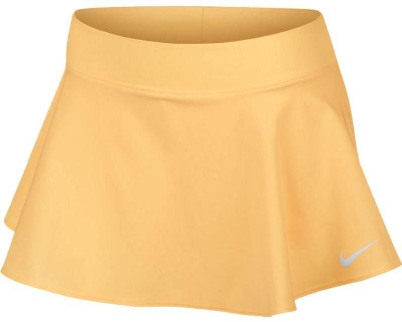 Теннисная юбка детская Nike Girl's Court Pure Flouncy Skirt tangerine tint/white