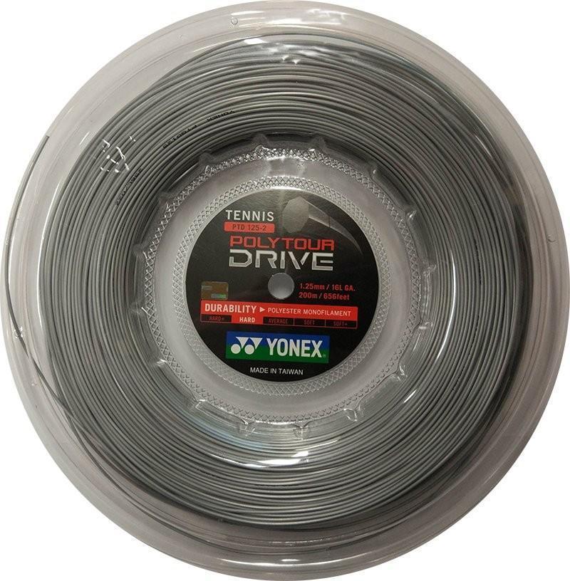 Струна Yonex Poly Tour Drive (200 m) silver бобина