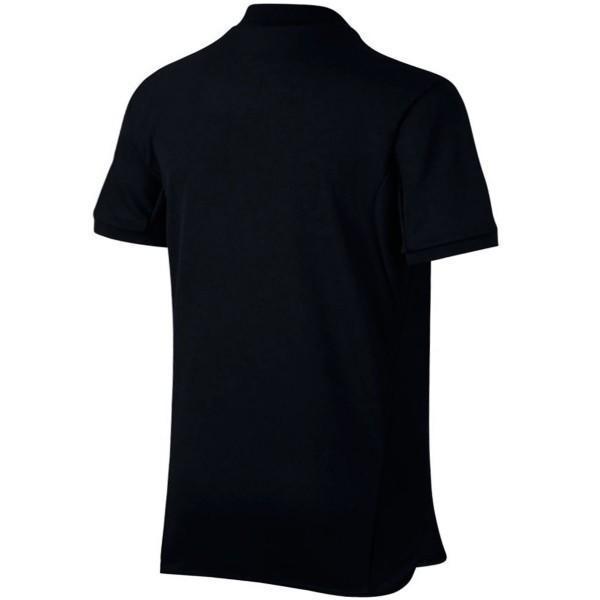 Теннисная футболка детская Nike Court Advantage Tennis Polo black/white поло