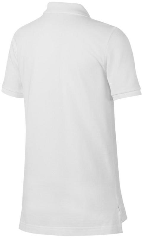 Теннисная футболка детская Nike Court Heritage Polo white/white поло