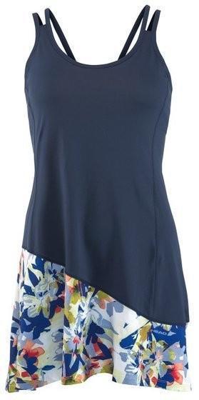 Теннисное платье детское Head Vision Graphic G Dress navy