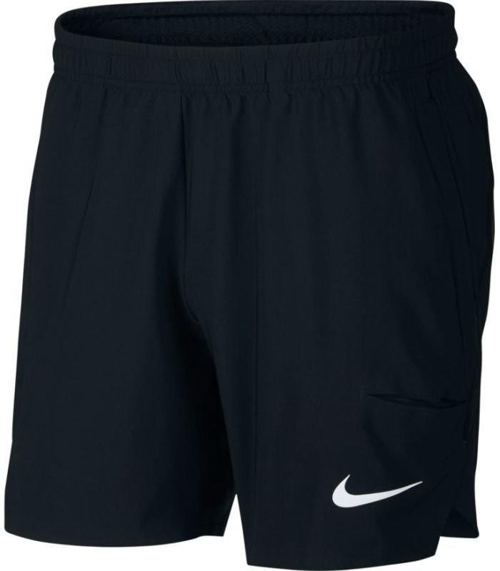 Теннисные шорты мужские Nike Court Flex Ace Short 7 black/black/white