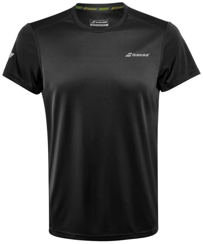 Теннисная футболка мужская Babolat Core Flag Club Tee Men black/black