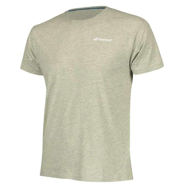 Теннисная футболка мужская Babolat Core Tee Men high rise heather