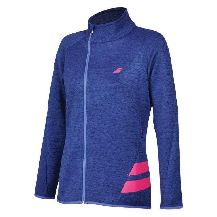 Кофта женская Babolat Performance Jacket Women estate blue heather/fandango pink