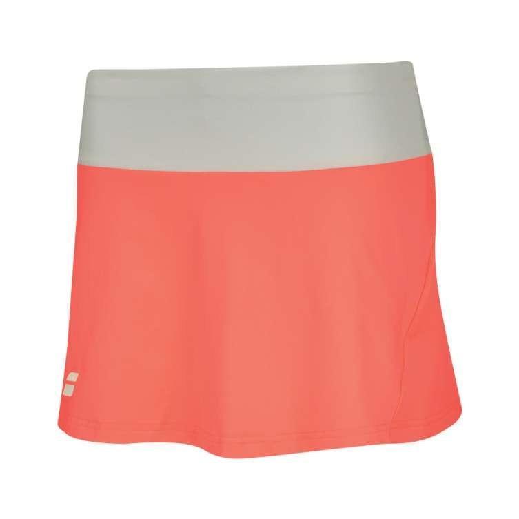 Теннисная юбка женская Babolat Core Skirt Women fluo strike