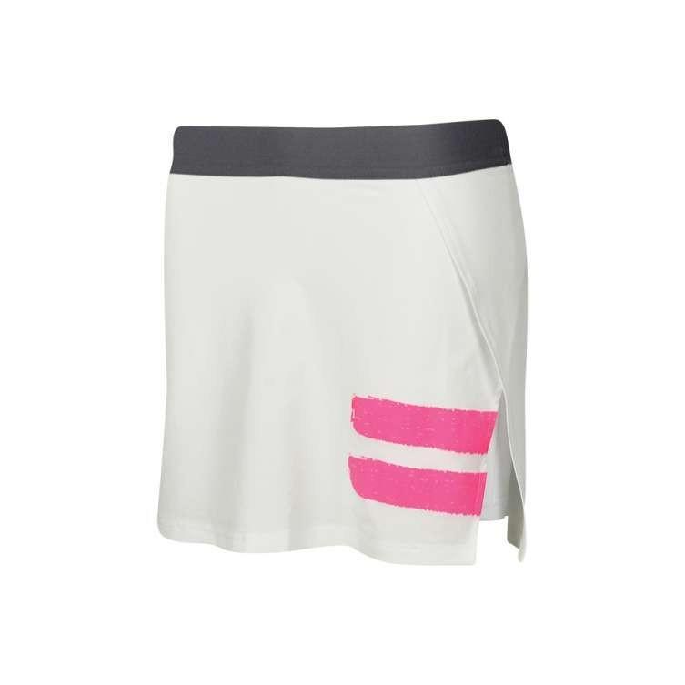 Теннисная юбка женская Babolat Performance Panel Skirt Women white/fandango pink