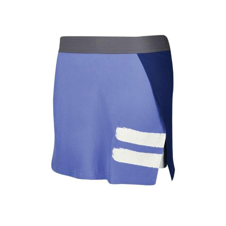Теннисная юбка женская Babolat Performance Panel Skirt Women wedgewood/estate blue