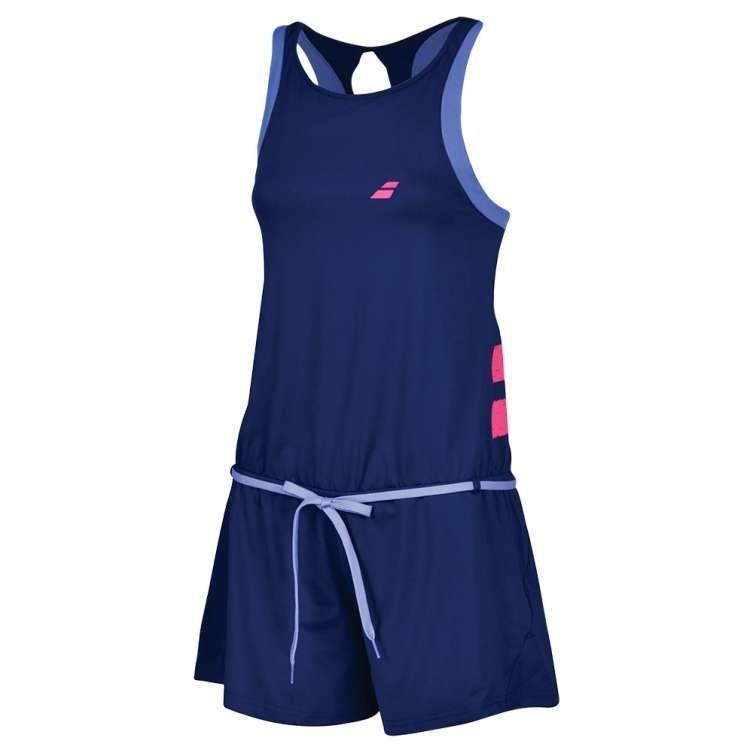 Теннисный комбинезон женский Babolat Performance Romper Women estate blue