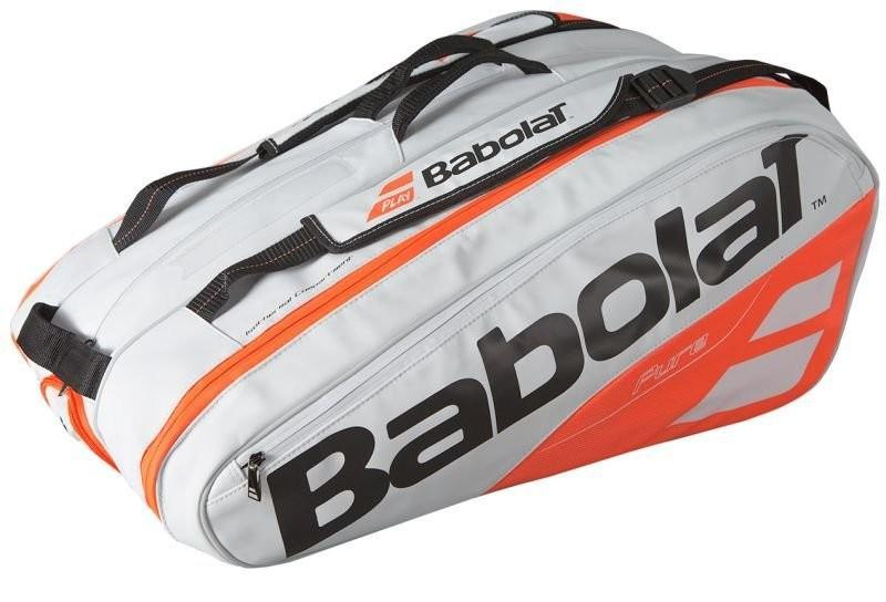 Теннисная сумка Babolat Pure Strike x12 2018 white/red