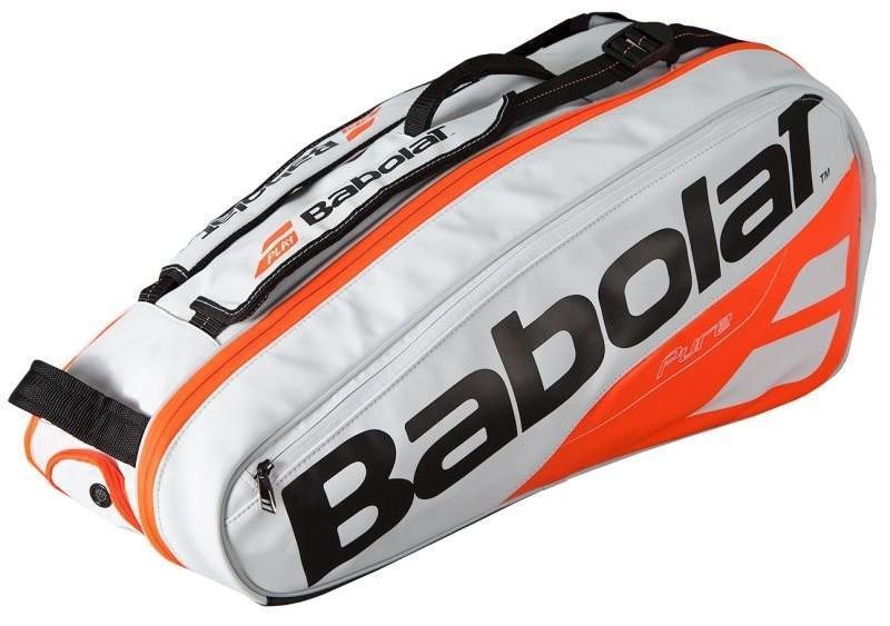 Теннисная сумка Babolat Pure Strike x6 2018 white/red