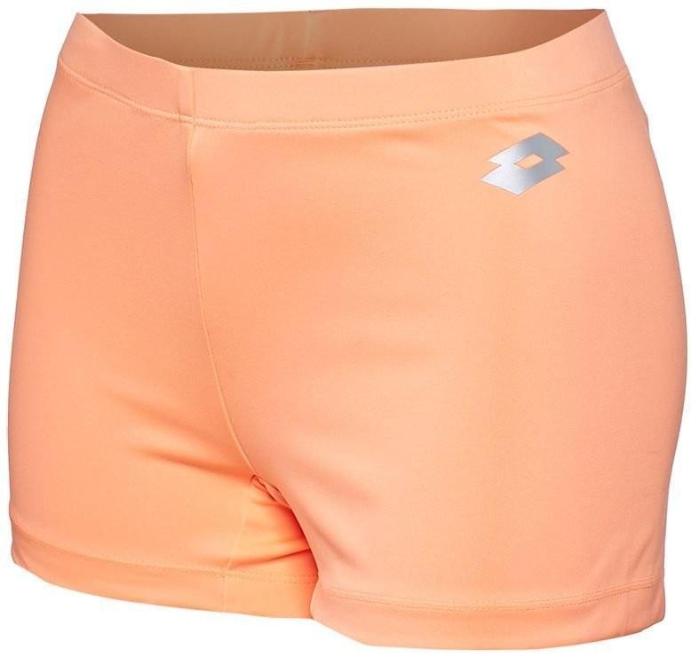 Тенісні шорти жіночі Lotto Ace Shorty orange  под платье