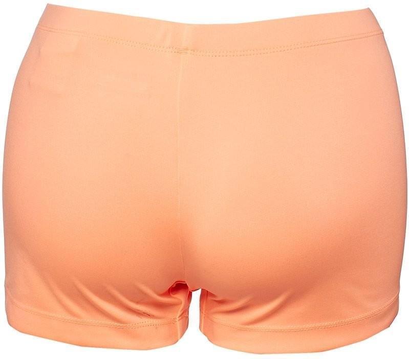 Теннисные шорты женские Lotto Ace Shorty orange под платье