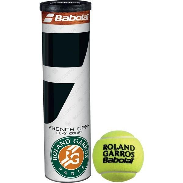 Мячи для тенниса Babolat French Open Clay Court 4-Ball