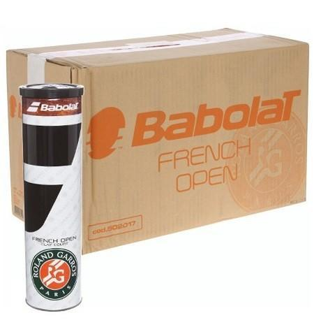 Мячи для тенниса Babolat French Open Clay Court 4-Ball 18 банок
