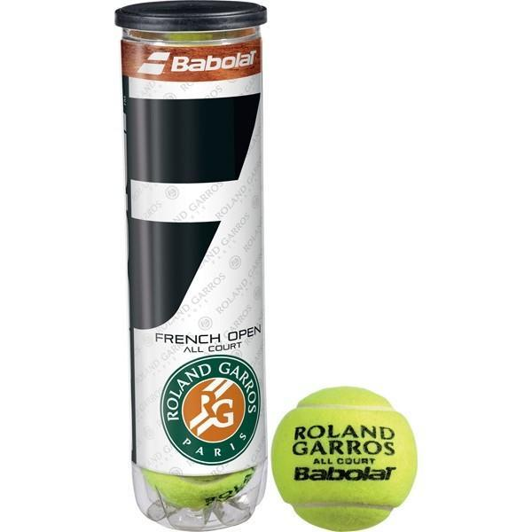 Мячи для тенниса Babolat French Open All Court 4-Ball