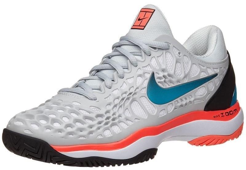 Теннисные кроссовки женские Nike WMNS Air Zoom Cage 3 HC purple platinum/blue nebula