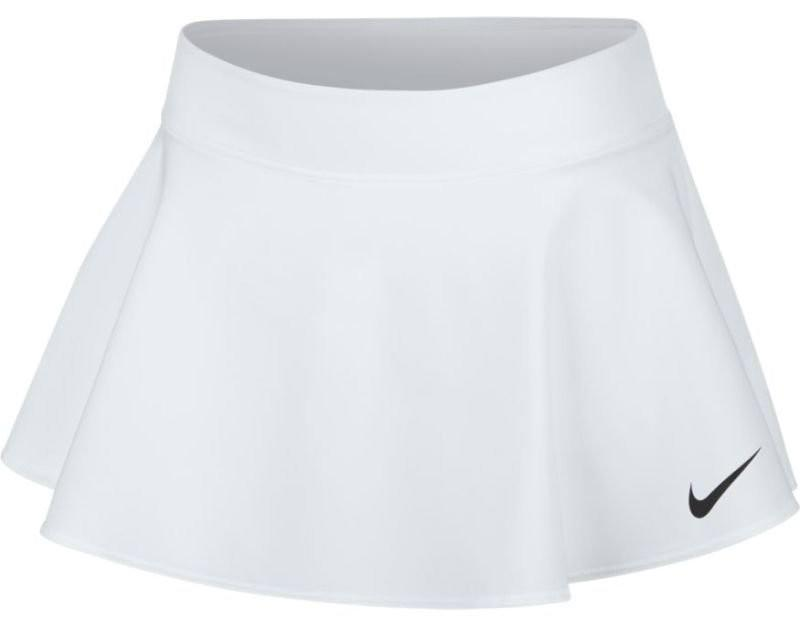Теннисная юбка детская Nike Girl's Court Pure Flouncy Skirt white/white/white/black