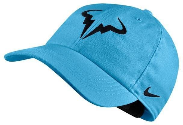 Теннисная кепка Nike Rafa U Aerobill H86 Cap lagoon pulse/black