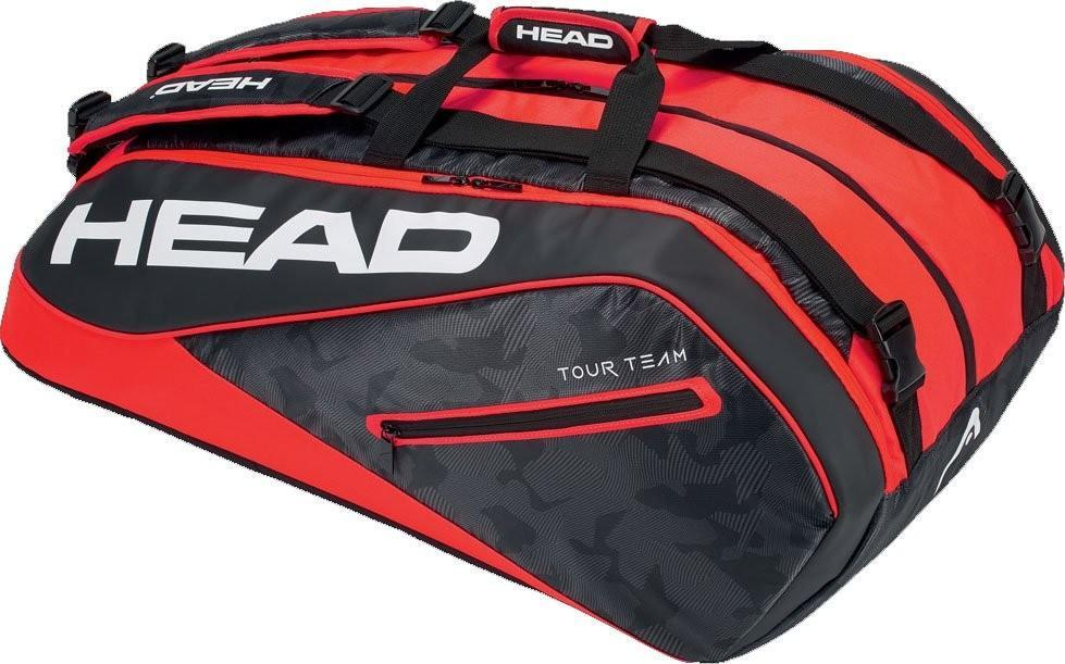 Теннисная сумка Head Tour Team 12R Monstercombi 2018 black/red