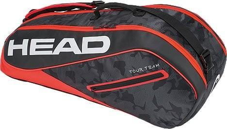 Теннисная сумка Head Tour Team 6R Combi 2018 - black/red