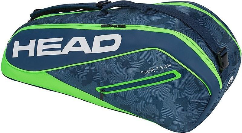 Теннисная сумка Head Tour Team 6R Combi 2018 - navy/green
