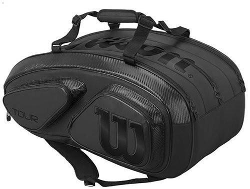 Теннисная сумка Wilson Tour V 15 Pk black/black