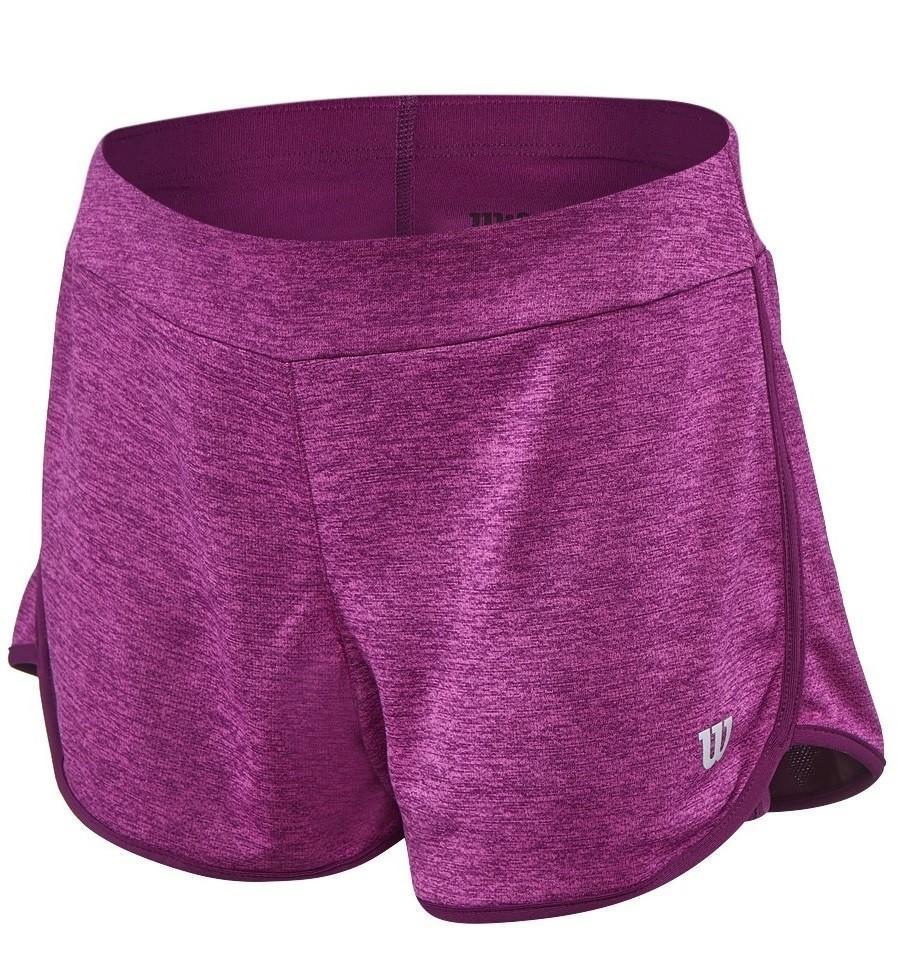Теннисные шорты детские Wilson Core 3.5 Short Very Berry/Dark Purple