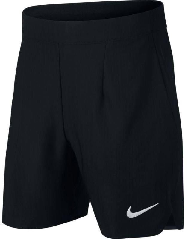 Теннисные шорты детские Nike Court Ace Short 6in black/white