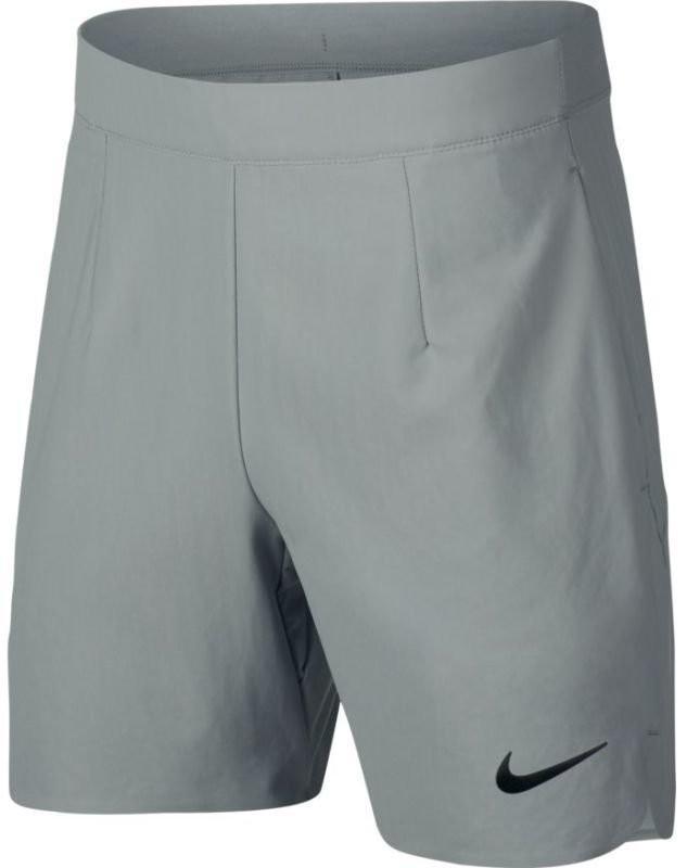 Теннисные шорты детские Nike Court Ace Short 6in light pumice/black
