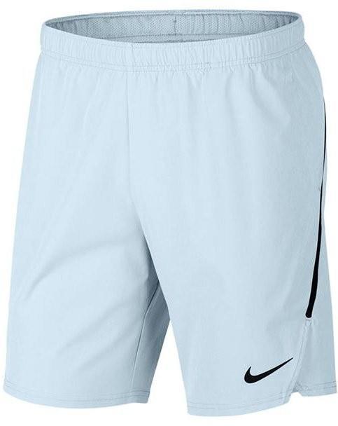 3dec22e1 Теннисные шорты мужские Nike Flex Ace 9IN Short glacier blue/glacier  blue/black