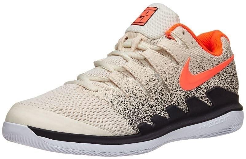 Детские теннисные кроссовки Nike Zoom Vapor 10 HC Jr light cream/bleached aqua