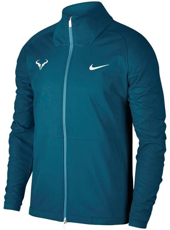 Куртка мужская Nike Court Rafa Jacket green abyss/black