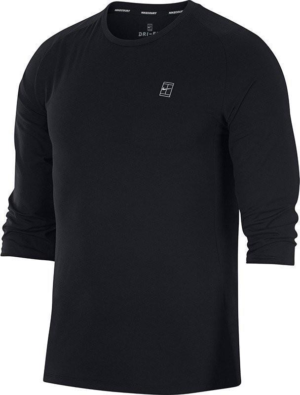 Теннисная футболка мужская Nike Court Dry Challenger black