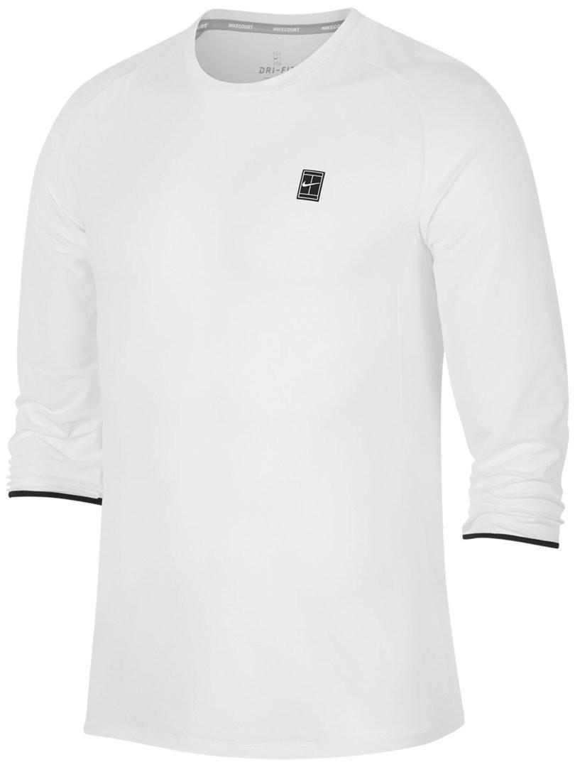 Теннисная футболка мужская Nike Court Dry Challenger white