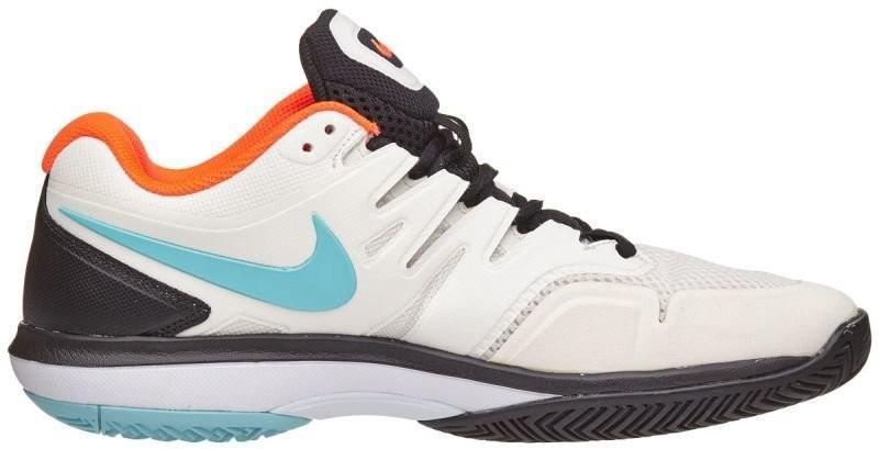 Теннисные кроссовки мужские Nike Air Zoom Prestige HC phantom/bleached aqua/white