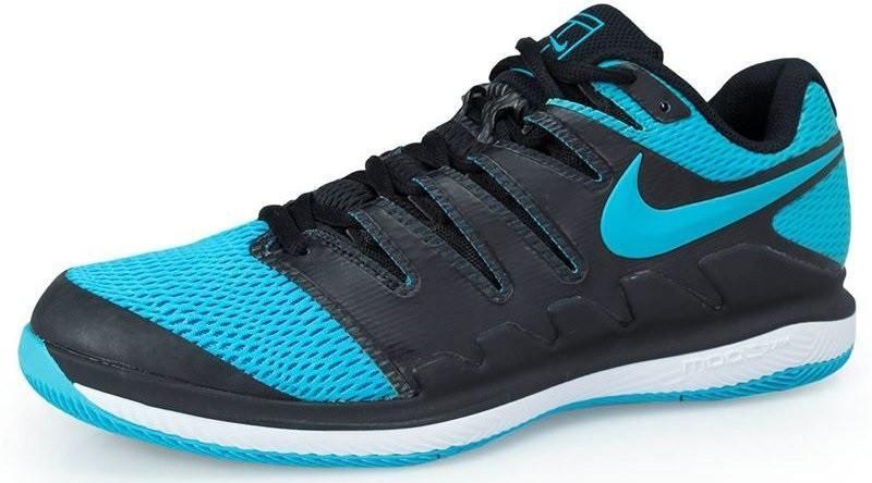 Теннисные кроссовки мужские Nike Air Zoom Vapor 10 HC black/gamma blue/white