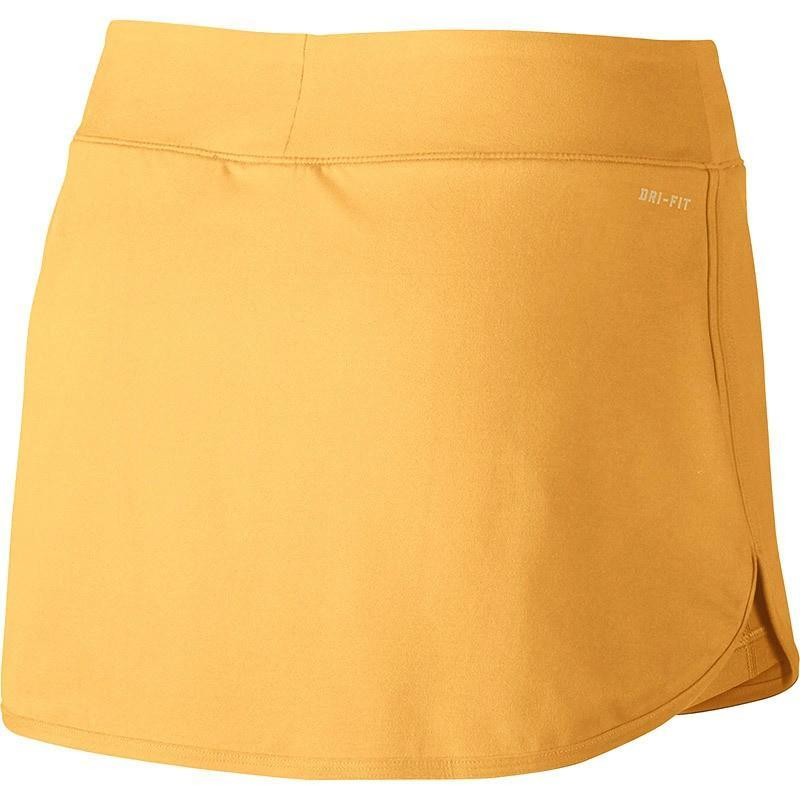Теннисная юбка женская Nike Court Pure Skirt tangerine tint/white