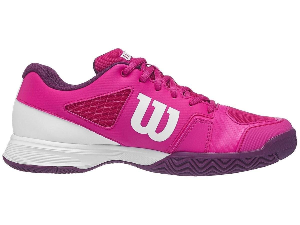 Детские теннисные кроссовки Wilson Rush Pro 2.5 Junior - very berry/white/dark purole